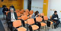 Пресс-конференция на тему Что принесут налоговые изменения в 2017 году в Международном мультимедийном пресс-центре Sputnik Азербайджан