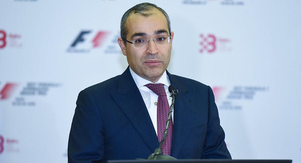 Министр образования Микаил Джаббаров, фото из архива