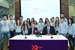 Открытие академии волонтеров гонки Гран-при Азербайджана