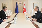 Azərbaycan Respublikasının Gürcüstandakı səfiri Dursun Həsənov Gürcüstanın baş naziri Giorgi  Kvirikaşvili tərəfindən qəbul edilib