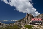 Альпийская деревня в Австрии