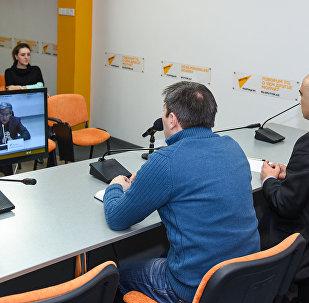 Видеомост Москва – Минск – Астана – Кишинев – Баку на тему Внешнеполитические приоритеты государств СНГ