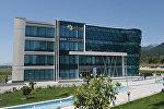 Здание центра ASAN Xidmət в Габале, архивное фото