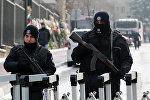 Турецкие полицейские в Анкаре, фото из архива