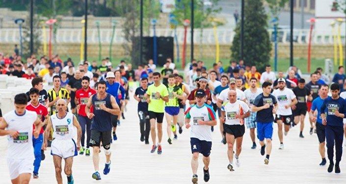 Участники Бакинского марафона-2016, фото из архива