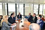 Ильхам Алиев встретился с вице-президентом Европейской комиссии по вопросам Энергетического союза