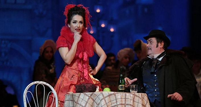 Опера Богема по произведению Джованни Пуччини