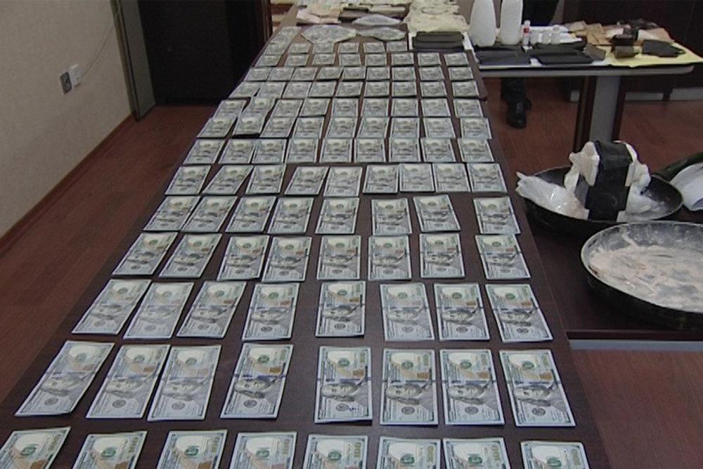 Деньги, изъятые у задержанных