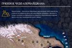 Карта грязевых вулканов и их извержений