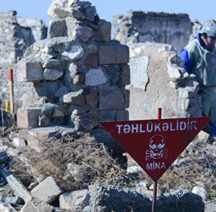 Разминирование села Джоджуг Марджанлы Джабраильского района АР, фото из архива