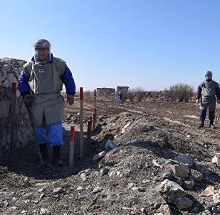 Разминирование села Чоджуг Марджанлы Джабраильского района АР