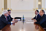 Prezident İlham Əliyev Mərkəzçi Demokratlar İnternasionalının vitse-prezidenti Mario Davidi qəbul edib