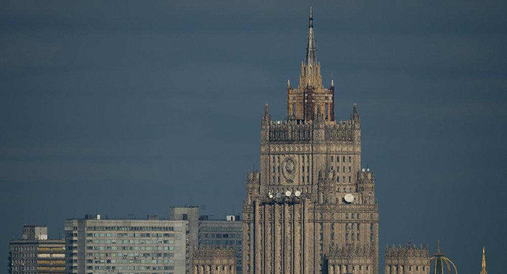 Здание МИД РФ в Москве, фото из архива