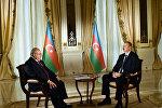 Президент Азербайджана Ильхам Алиев дал интервью корреспонденту телеканала «Аль-Джазира»