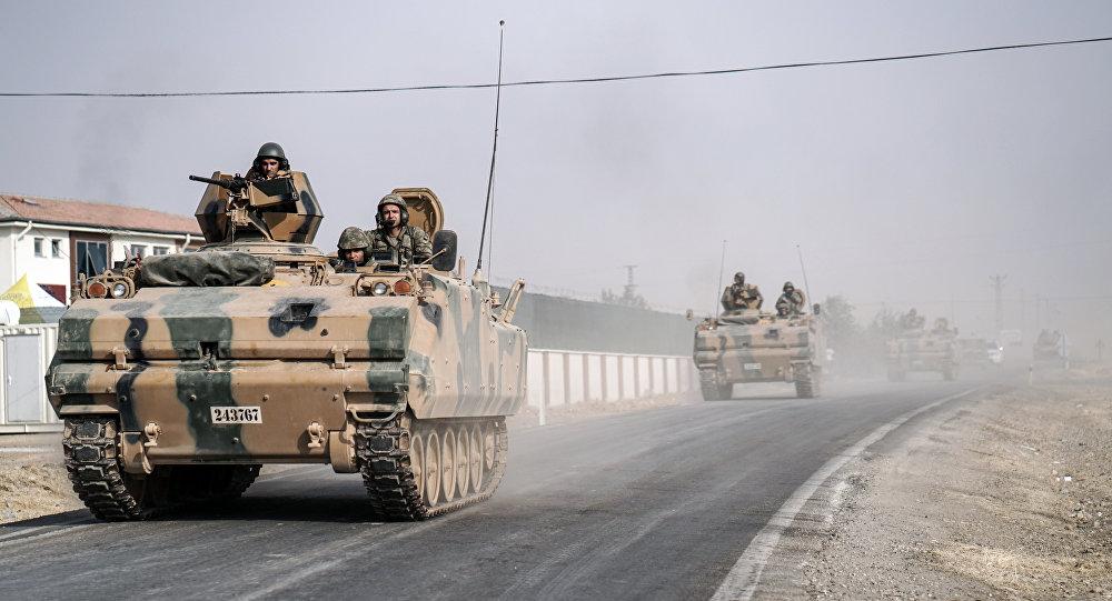 ВС Турции в Сирии
