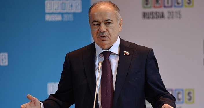 Заместитель Председателя Совета Федерации Федерального Собрания Российской Федерации Ильяс Умаханов