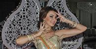 Азербайджанская танцовщица Оксана Расулова, фото из архива