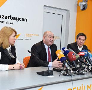 Пресс-конференция на тему Сейсмологическая ситуация в Азербайджане