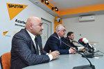 Встреча с журналистами на тему Азербайджано-российский диалог за 25 лет: акценты и перспективы