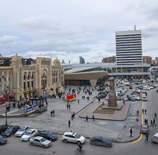 Бакинский железнодорожный вокзал после реконструкции и модернизации