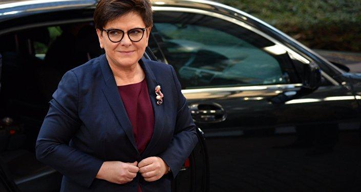 Polşa baş naziri Beata Şidlo
