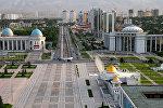 Виды Ашхабада - столицы Туркменистана, архивное фото