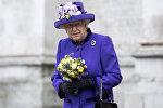 Британская королева Елизавета Вторая, фото из архива