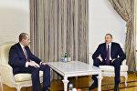İlham Əliyev Gürcüstanın xarici işlər nazirinin başçılıq etdiyi nümayəndə heyətini qəbul edib
