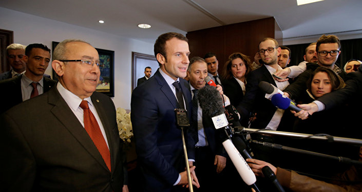 Бывший министр экономики Франции Эмманюэль Макрон