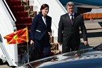 Президент Республики Македония Георге Иванов с супругой Майей Ивановой
