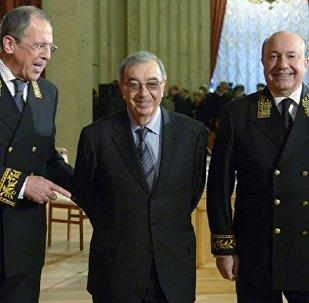 Rusiyanın indiki XİN-i Sergey Lavrov, sabiq nazirlər Yevgeni Primakov və İqor İvanov