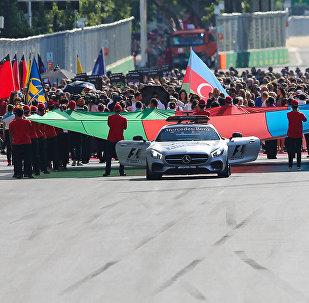 Всплеск эмоций на Гран-При Формулы-1 в Баку