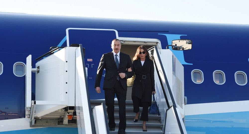 Ильхам Алиев напереговорах сминистром обороны Израиля фото; обновлено 18:40