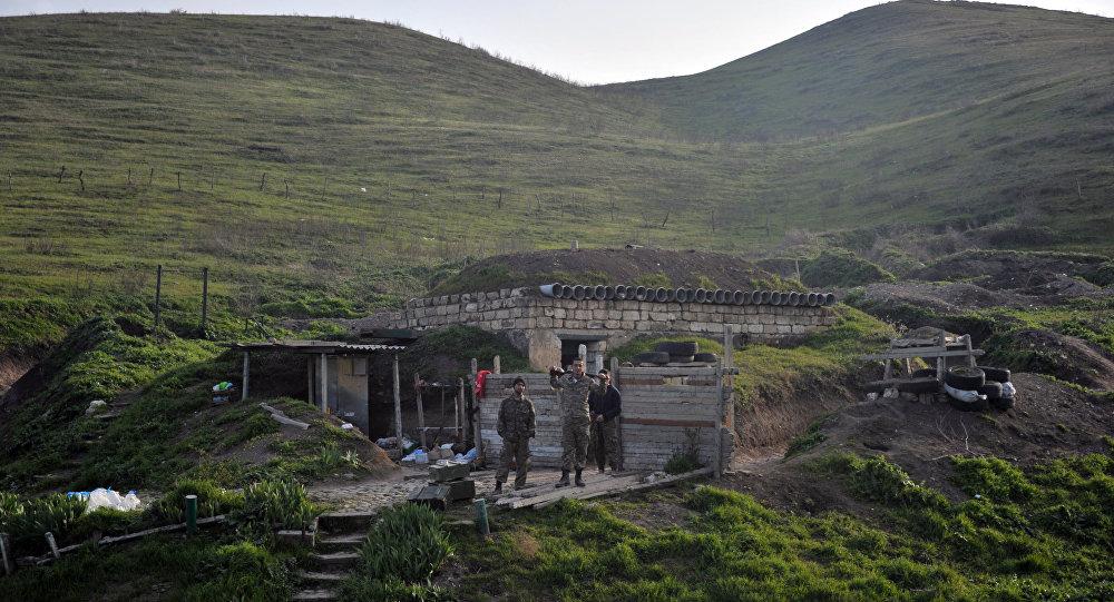 ВСАрмении продолжают обстрел позиций Азербайджана изснайперских винтовок иминометов