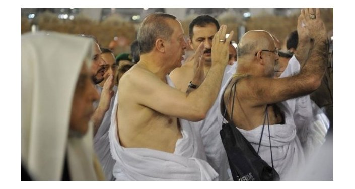 Türkiyə prezidenti Rəcəb Tayyib Ərdoğan Məkkədə