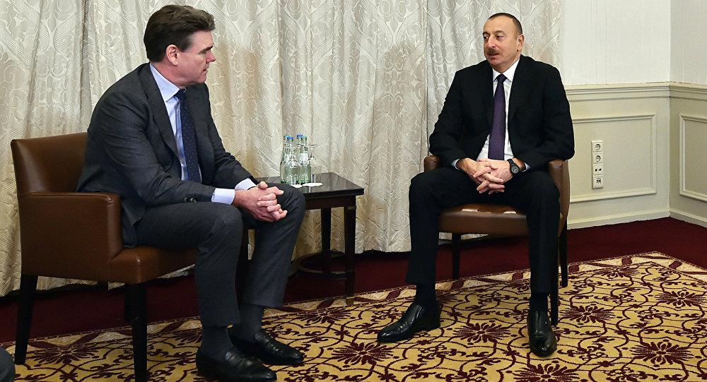 Президент Алиев считает существенным налаживание контактов между мэриями Баку и украинской столицы