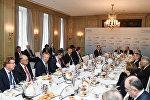 Президент Азербайджана Ильхам Алиев принял участие в «круглом столе» в рамках Мюнхенской конференции по безопасности