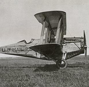 ABŞ aviapoçt xidmətinə aid biplan, 1920-ci il