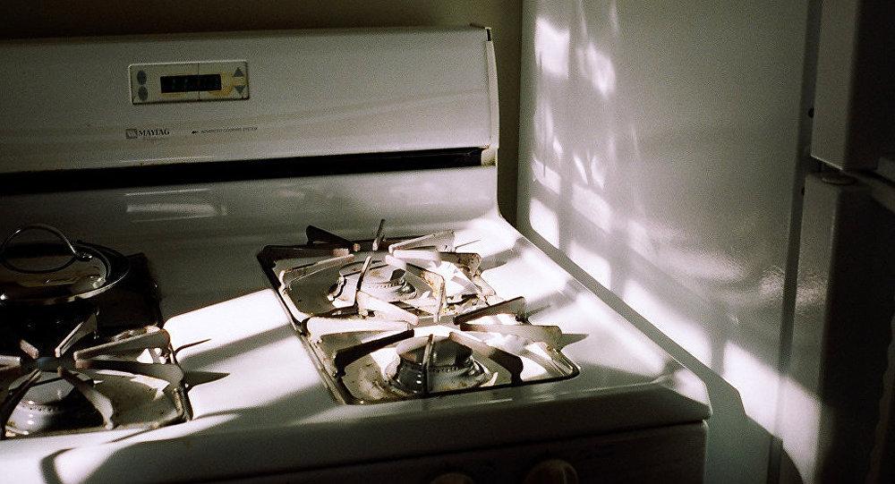 Газовая плита, фото из архива