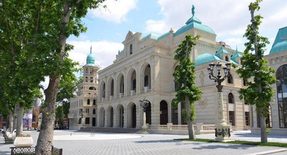 Gəncə Dövlət Filarmoniyasının binası