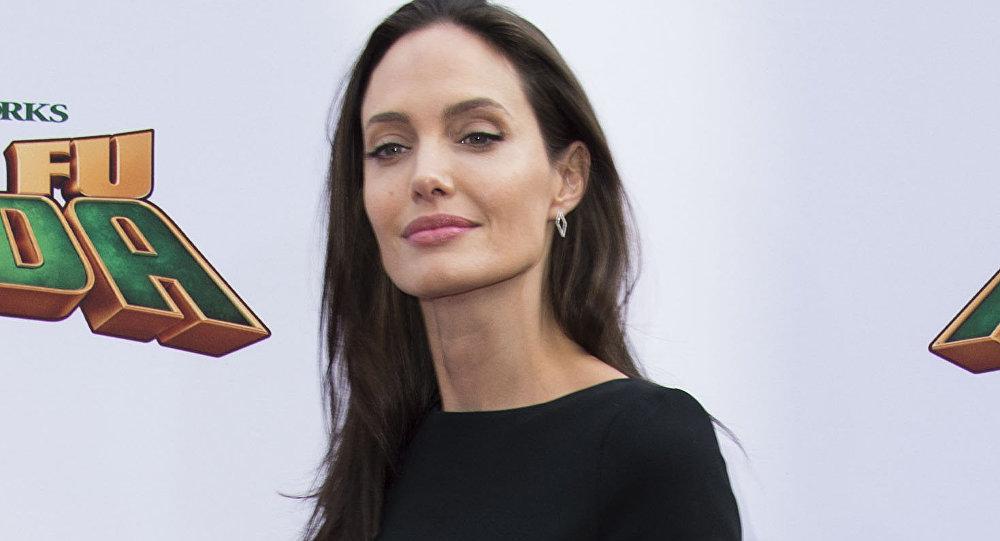 Актриса Анджелина Джоли, фото из архива