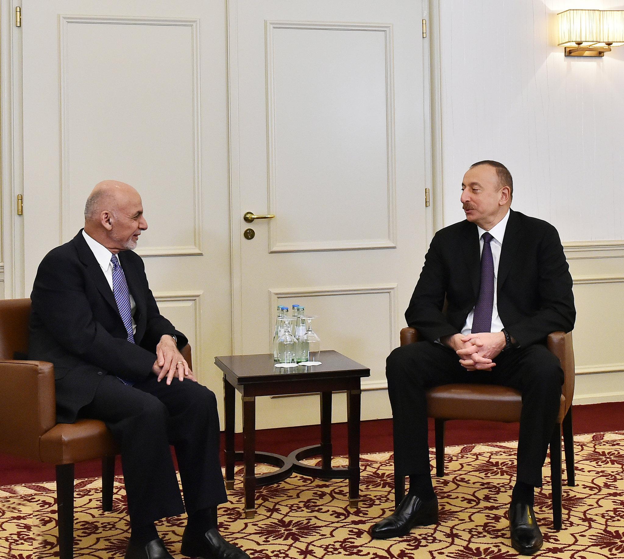 Ильхам Алиев и Мухаммед Ашраф Гани