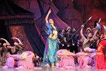 Генеральная репетиция балета Половецкие пляски композитора Александра Бородина