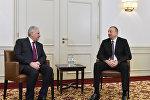 İlham Əliyev ilə Türkiyənin Baş naziri Binəli Yıldırımın Münhendə görüşü olub