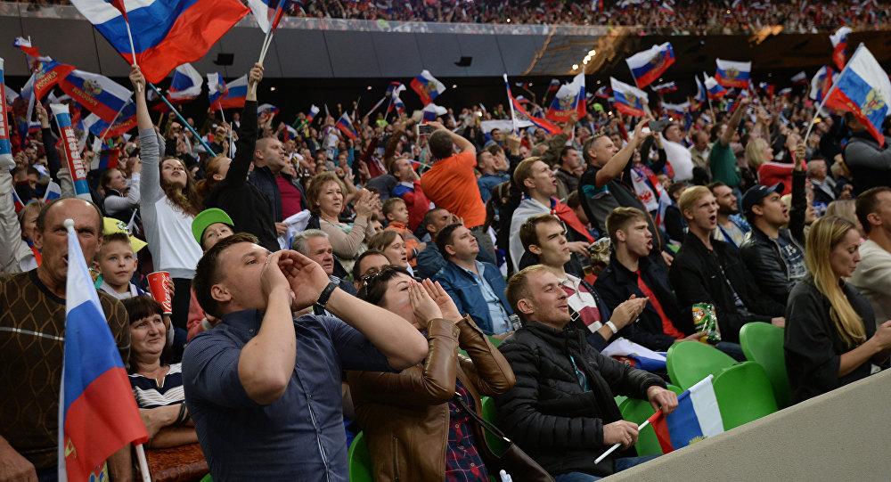 Русские болельщики записали песню для английских фанатов ипозвали ихнаЧМ