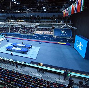 Кубок мира по прыжкам на батуте и тамблингу в Баку