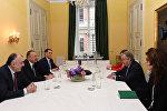Президент Азербайджана Ильхам Алиев встретился с генсекретарем ООН Антонио Гутеррешом