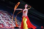 Кубок мира по прыжкам на батуте и тамблингу в Национальной гимнастической арене