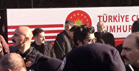 Охранник президента Турции Реджепа Тайипа Эрдогана сбил охранника главы государства