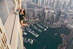 Модель Виктория Одинцова в Дубаи